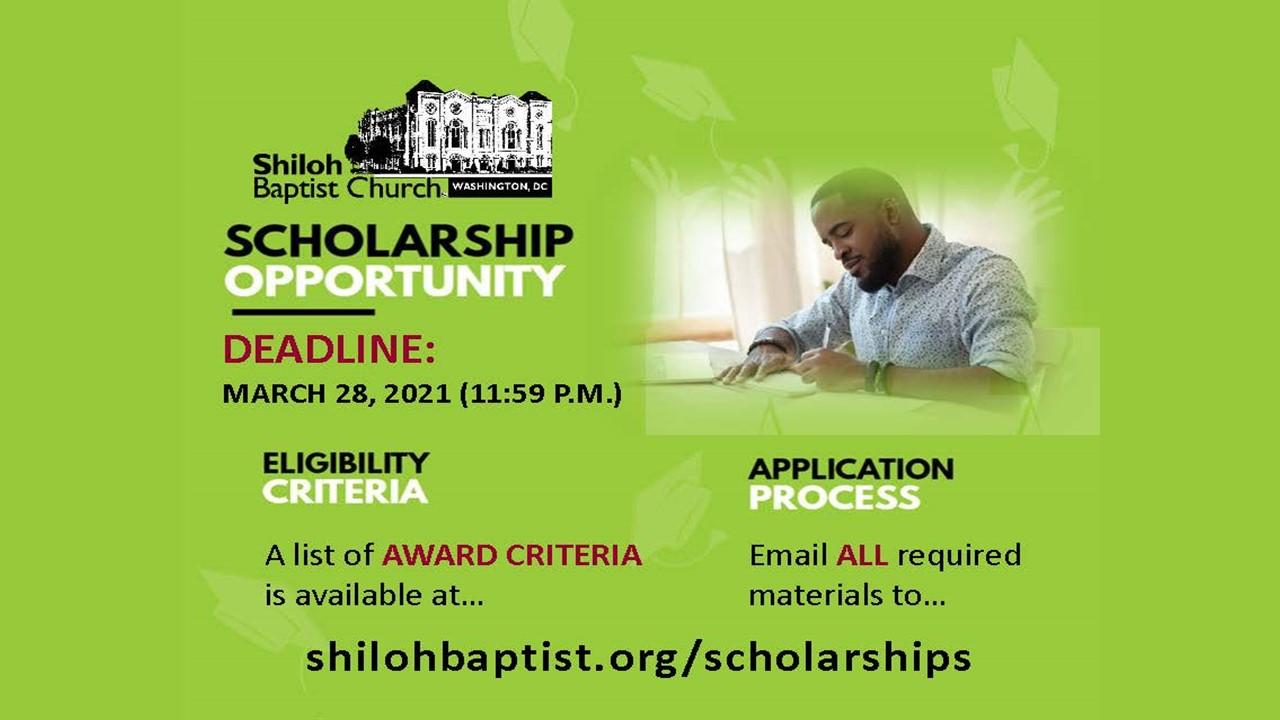 Shiloh Scholarships