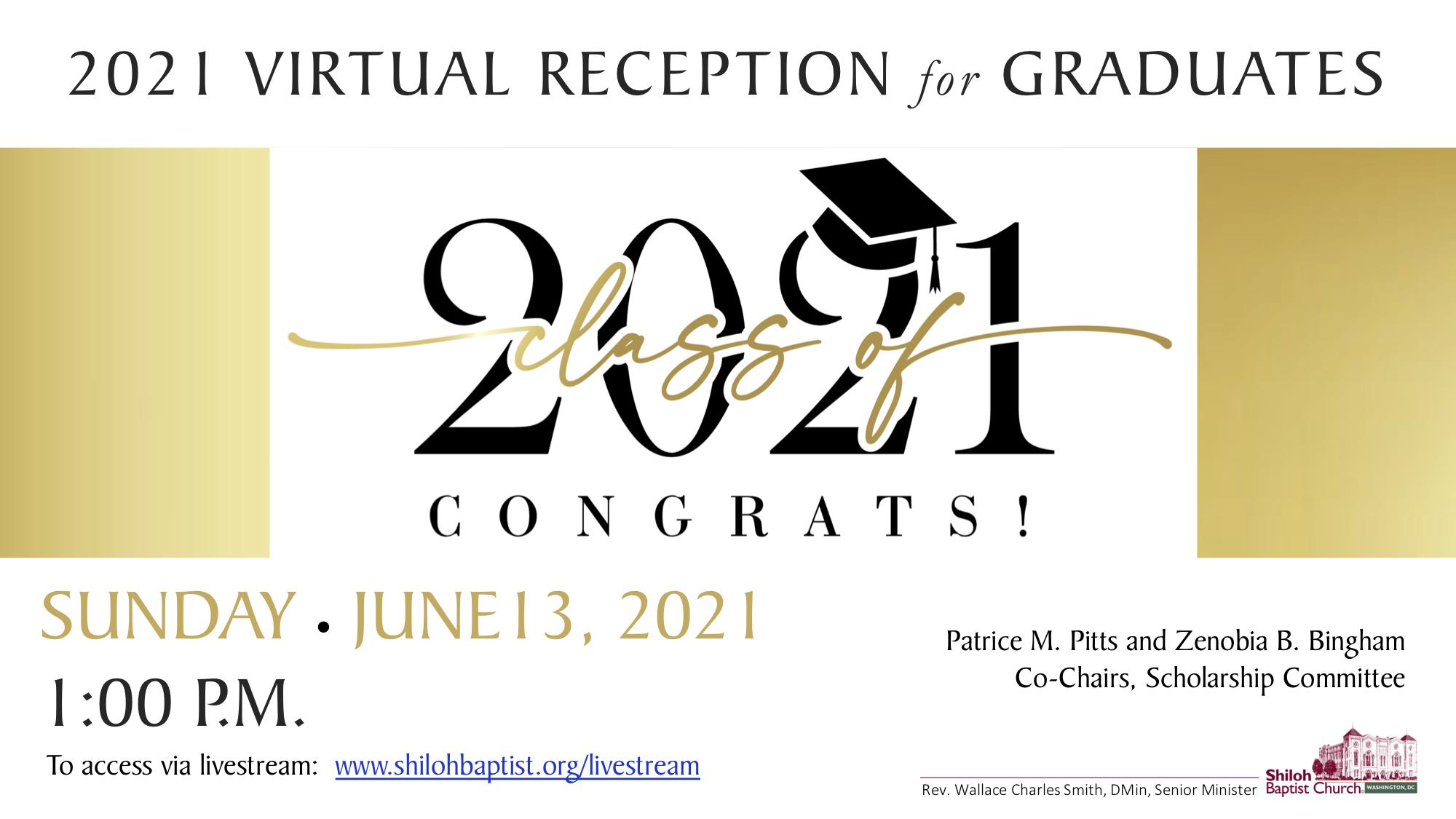 2021 Reception for Graduates